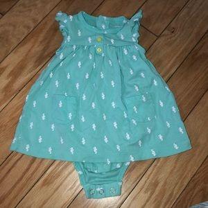 6 month Seahorse dress!